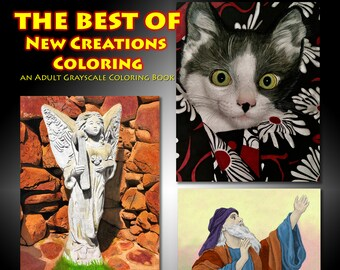 New Creations Coloring Book Series: THE BEST OF