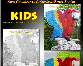 New Creations Coloring Book Series:  KIDS