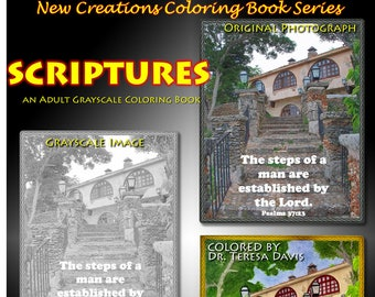 New Creations Coloring Book Series:  SCRIPTURES