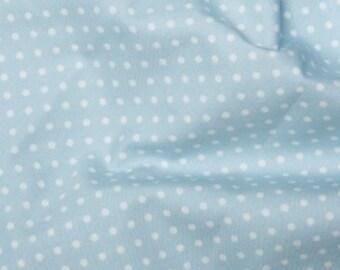 CREAM MULTI Meter//Fat Quarter//FQ//Square Cotton Fabric Cute Retro Polka Dots Spot