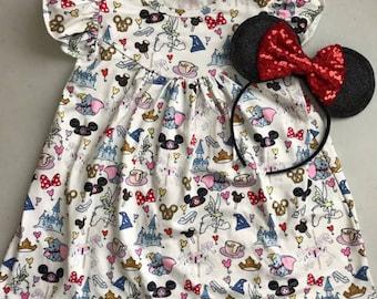 debf67e3f3d Girls  Disney World Pearl Dress