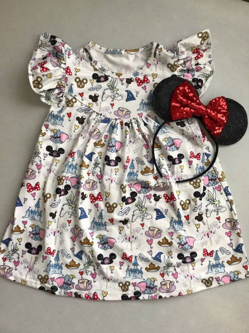 Girls' Disney World Pearl Dress image 0