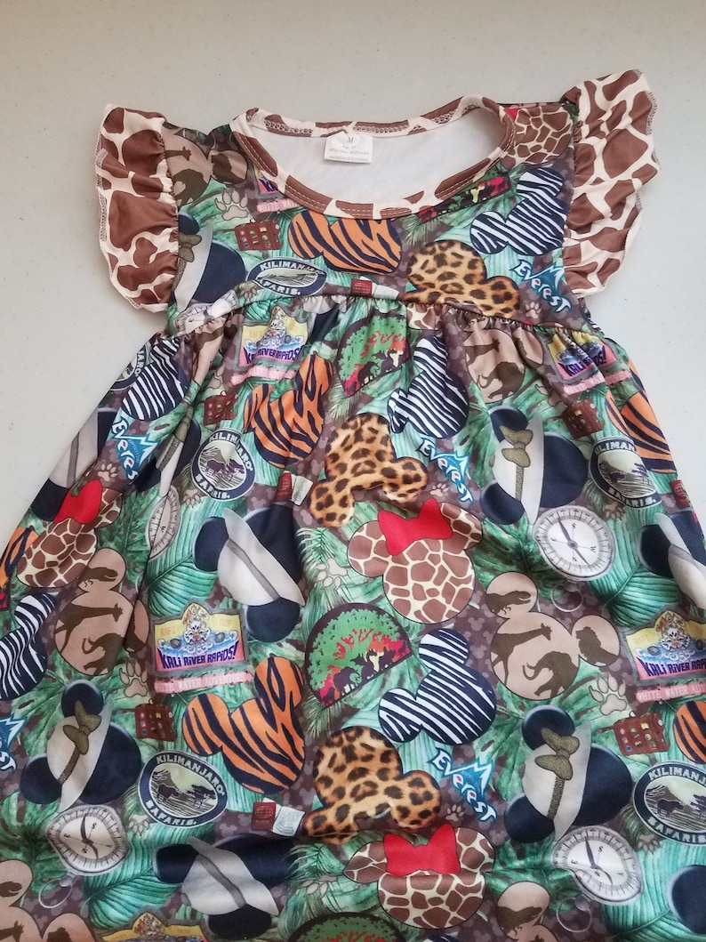 Girls' Inspired Animal Kingdom Dress image 0