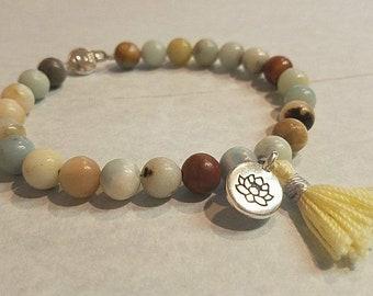 """Intuition """"Amazing Mama"""" Amazonite Clasp Bracelet"""