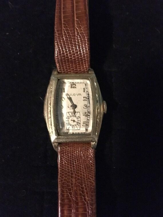 Bulova 1950s men's watch