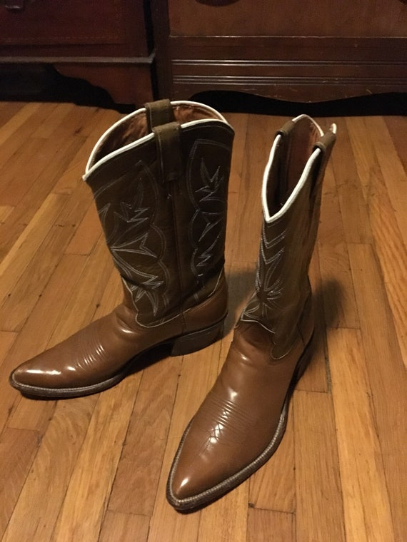 1960s Nacona cowboy boots.