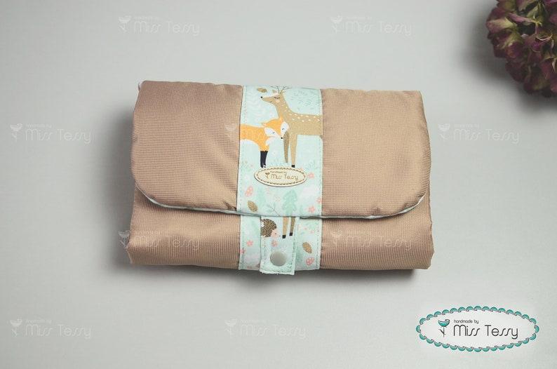 Diaper clutch bear baby diaper bag diaper organizer diaper pouch travel changing pad