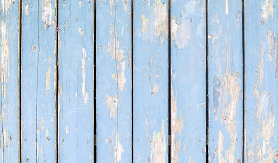 Vintage Antique Retro Painted Wood