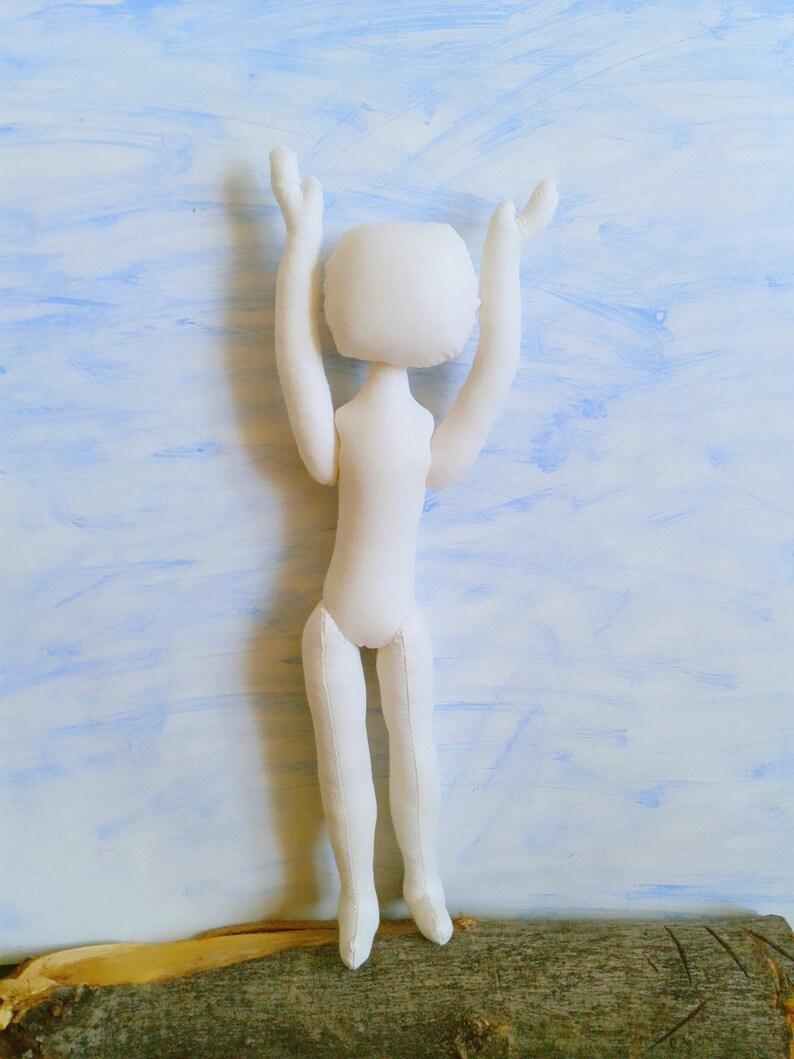 11\ Blank doll body