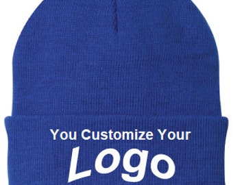 cc34249972201 Custom Personalized Embroidered Beanie or Skull Cap l Personalized Beanie  Cap