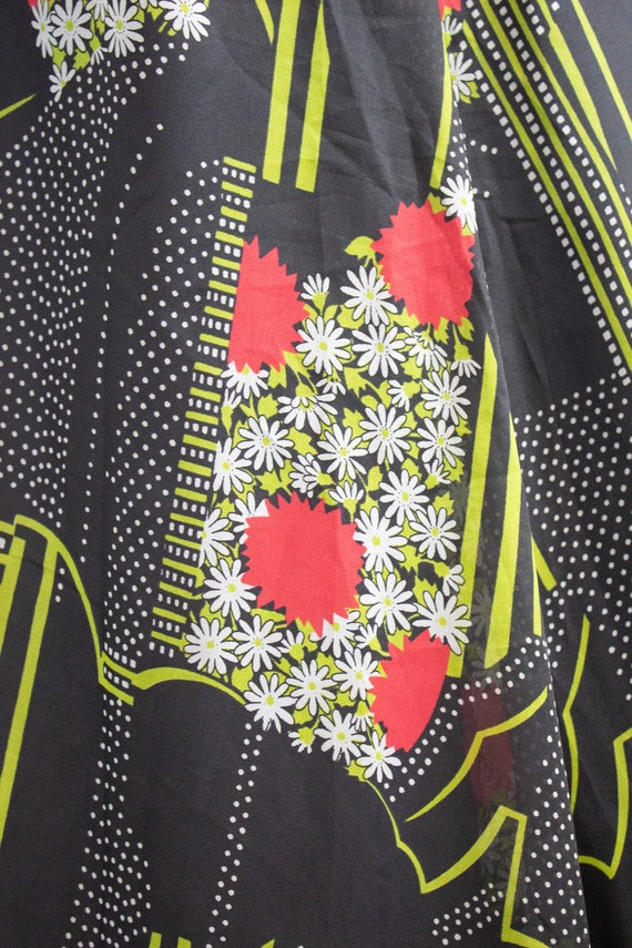 Vintage 70s Floral Maxi Dress / Size 12 / EU 40 /… - image 5