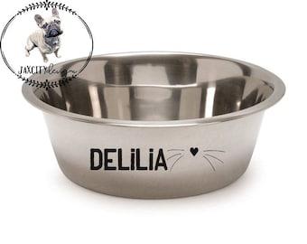 Personalized Dog/Cat Bowls, Dog Bowl, Cat Bowl, Pet Bowl, Dog Gift, Cat Gift, Pet Gift, Dog Accessories, Cat Accessories, Dog, Cat, Pet