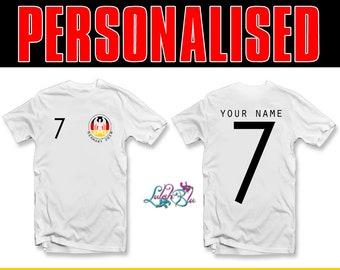 413e47bbf Kids Personalised Germany 2019 T-Shirt