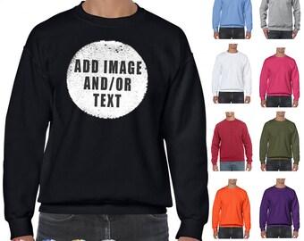 Adults Personalised Reversible Sequin Mermaid Sweatshirt  6b493c6b6d08e