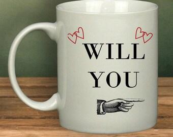 Will You --- Make Me A Brew Mug | Funny | Mug