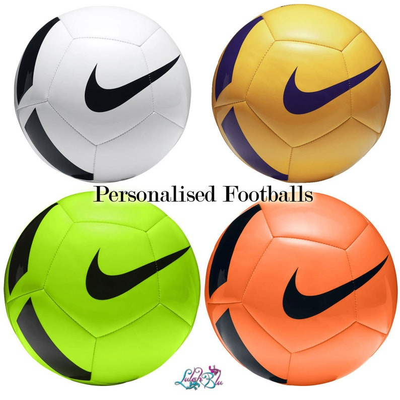 e411c664248 Personalised Football With Display Stand Customised Soccer