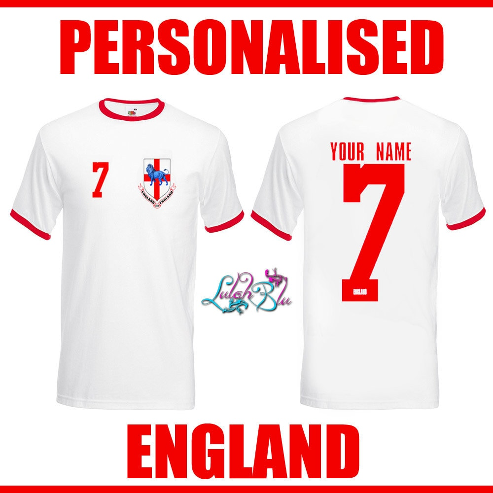 caf296d0a Custom England Football Shirts - DREAMWORKS
