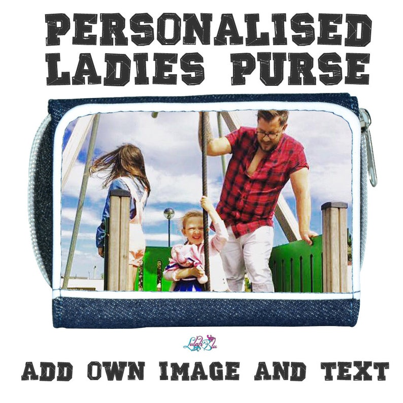 Customised Women/'s Wallet Custom Photo Gift Birthday Gift Personalized  Mothers Day PERSONALISED Ladies Purse