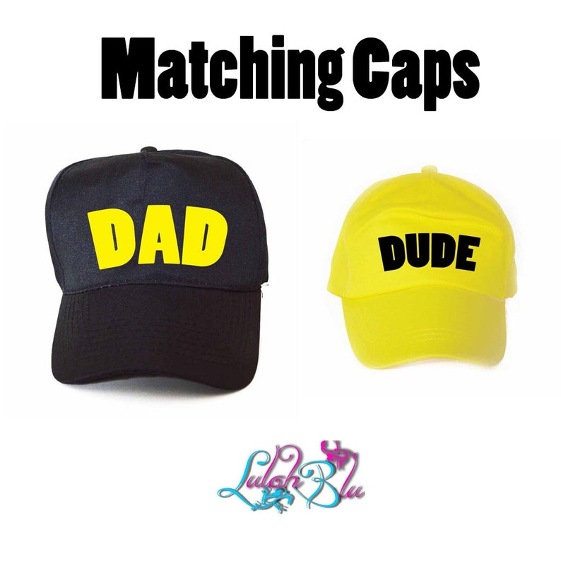 36c0885f3a0 Dad And Dude Caps Father And Son Hats Fathers Day