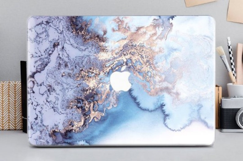 sports shoes a2ff1 21525 Marble Cover MacBook 12 Hard MacBook Pro Case MacBook Air Case 13 MacBook  Pro Retina Keyboard Stickers Laptop Hard Case Blue Marble CA2099