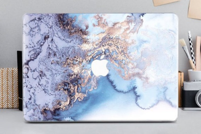 competitive price 288c2 676d4 Laptop Cover Marble Macbook Pro 15 2019 inch Macbook Pro Hard Case 12 Inch  2017 Macbook Blue Marble Hard Case Macbook Air 13 Inch CA2018