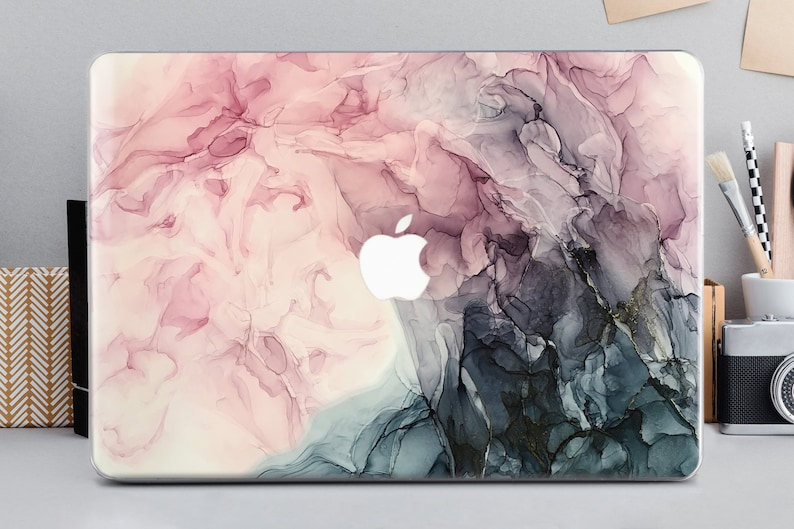 Marble Painting Laptop Case Protective Hard Cover for Macbook Air 12 inch