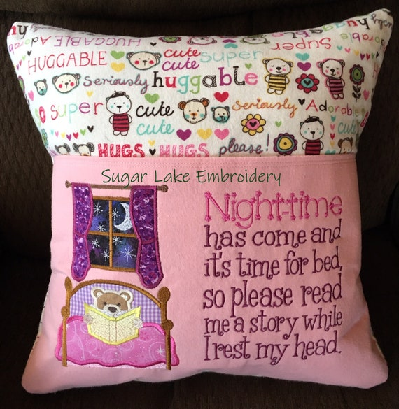 Reading Poem Reading pocket pillow 16 inch pillow cover Female  Heroes Reading Pillow Quilted Pocket Christmas Birthday