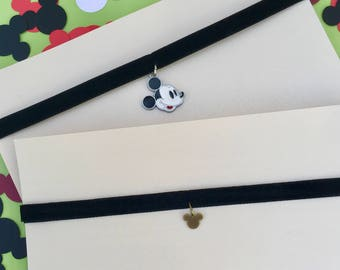 Mickey Mouse Inspired Chokers