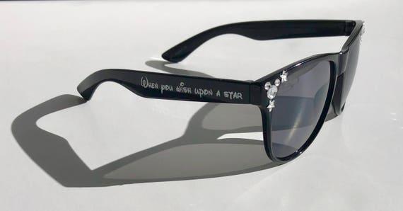 Black Sunglasses Customizable Gems