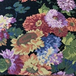 Floral Fabric 'Carpet' Travel Bag.Hand Made in England, Free Shipping Worldwide!