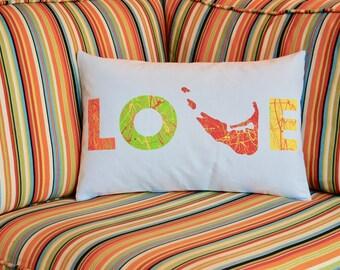 Nantucket Love Pillow