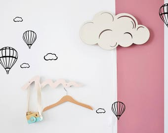 Children Room Decor, Lamp, Modern Nursery Decor, Night Light, Nursery Gift Idea, Baby Night Light, Cloud Light, Cloud Wall Decor