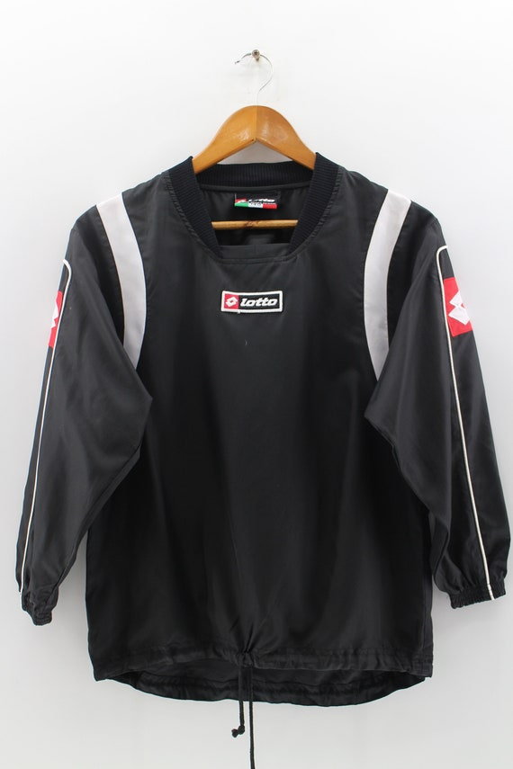 Champion UNISEX Coach windbreaker jacket Black COLOR  sz Small