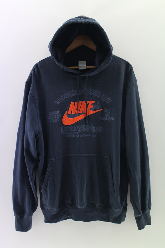 premium selection a4a10 10aa1 NIKE Swoosh Hoodie Jumper Sweater Extra Large Streetwear   Etsy