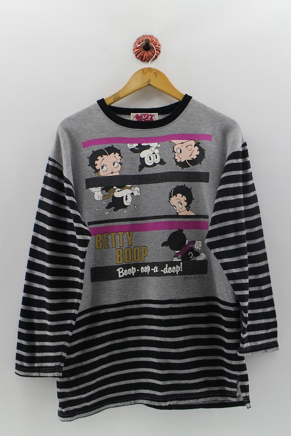 Vegas Baby Adult Work Shirt Betty Boop