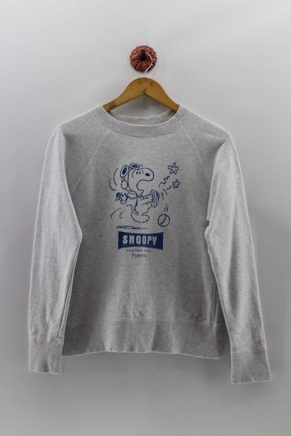 Vintage Snoopy Joe Cool Sweatshirt Pullover Medium