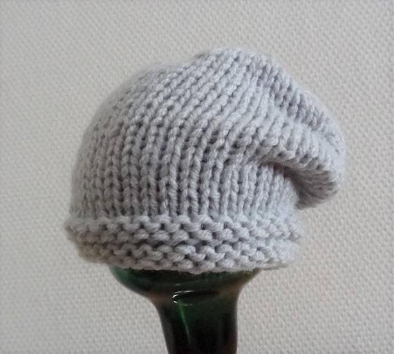 564770f70c8 Newborn slouchy Hat boy Slouchy Beanie knit chunky hat