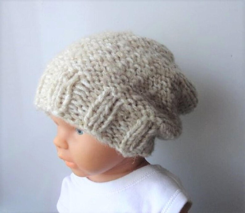 a778e2792e8 Baby winter hat Photo Prop Hat Newborn Hipster Hat