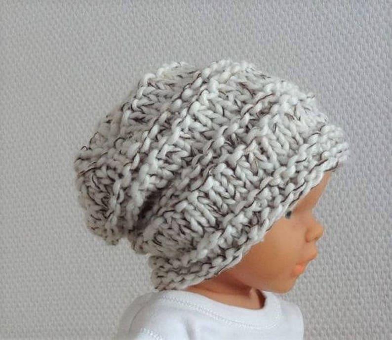 dba506f9f8a Newborn slouchy Newborn sacking Hat Baby Fall Hat Baby