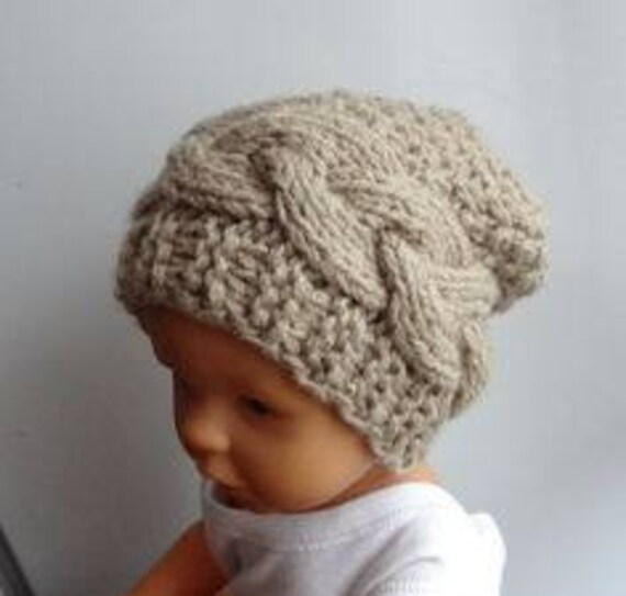 1b5606f6fa8 Newborn Hipster Hat Baby Winter sacking Hat Photo Prop Hat