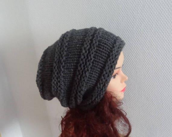 aa0bddcaa54 dark graphite hat Sacking Winter Hat Autumn Accessories