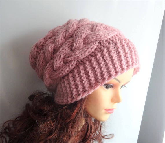 Pink Cup Men /& Women Stylish Knit Beanie Hat Slouchy Personalized Cap