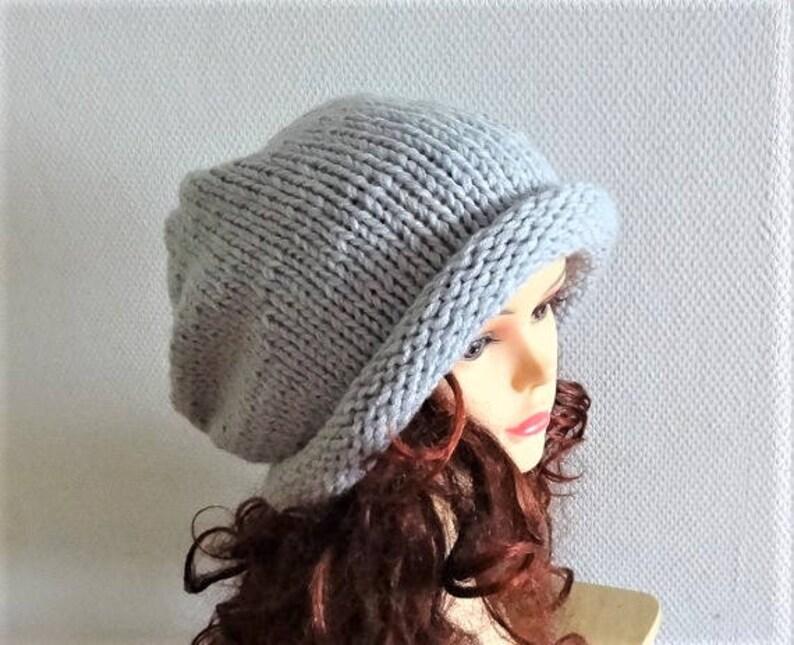 c719ecb91da Super Slouchy Beanie Big Baggy Hat Winter Adult Teen Fashion