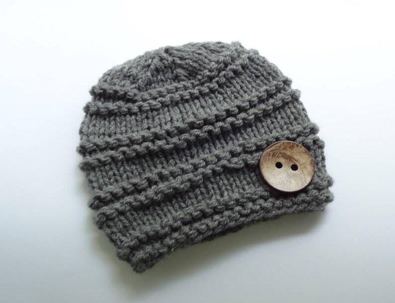 736f75f20396 Knit Baby Hat Baby Boy Winter Hat Newborn Hat Baby Hat Boy