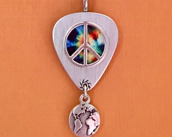 """Guitar Pick Necklace """"One"""""""