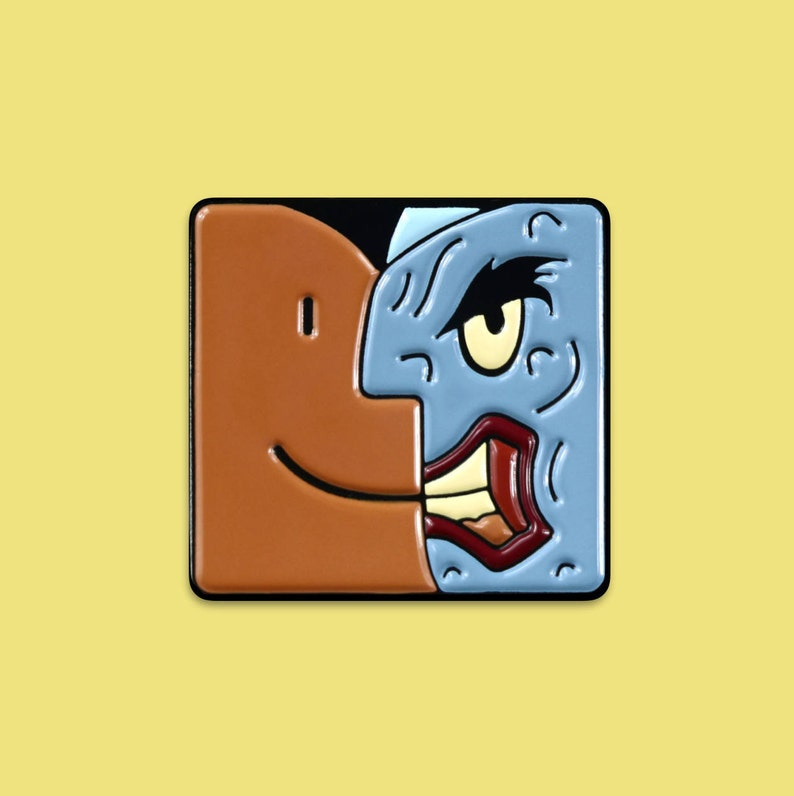 Two-Face/Finder App Pin