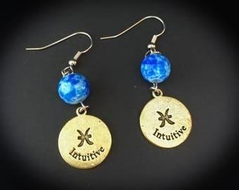 Zodiac Drop Earrings, Pisces, Scorpio, Sagittarius, Leo, Gemini, Leo, Aries, Taurus, Capricorn, Libra, Cancer, Virgo