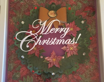 Merry Christmas Shadowbox