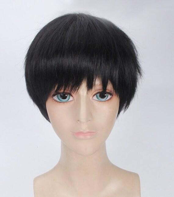 Tokyo Ghoul Ken Kaneki Anime Cosplay Full Hair Wig Etsy