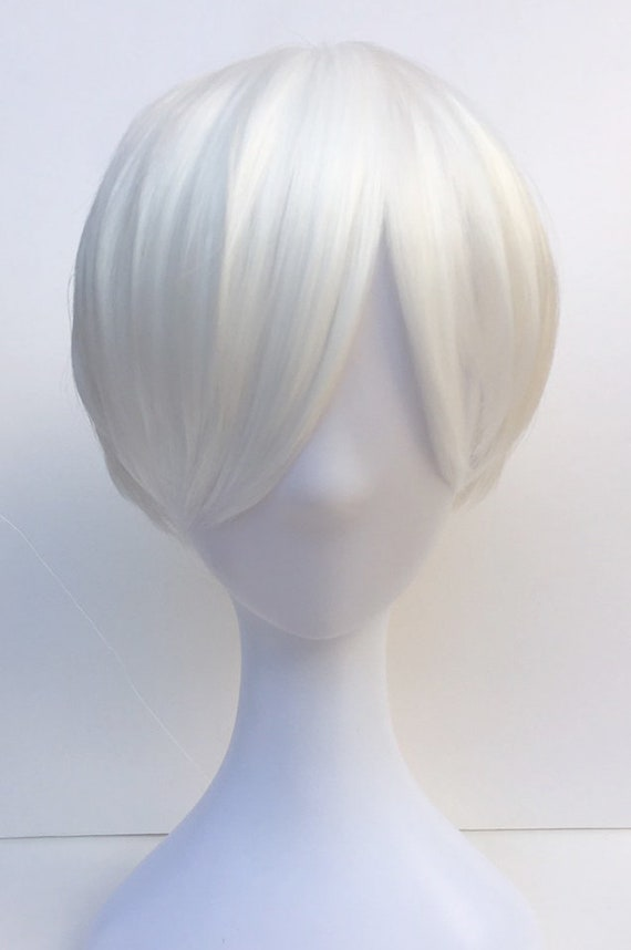 Cells At Workanime Cosplay Full Hair Wig White Blood Cell Etsy